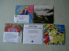 WILD PALMS job lot of 5 promo CDs Live Together, Eat Each Other (Remixes)