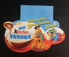 """Original Palettenanhänger """"Familie Feuerstein"""" Deutschland 2001 Maxi Ei"""