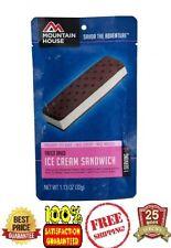 1 - Mountain House Freeze Dried Food Pouch  - Ice Cream Sandwich - Fresh
