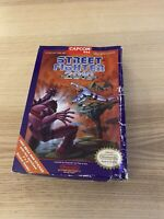 Street Fighter 2010 the Final NES Nintendo Complete CIB Original Authentic