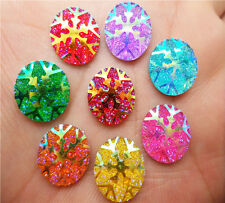 NEW DIY 40PCS Resin round flatback Scrapbooking for phone / wedding Art REQ55