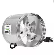 Vivosun 8 inch Inline Duct Booster Fan 420 CFM FAST FREE SHIPPING