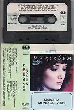 MARCELLA BELLA 1984 Montagne Verdi MUSICASSETTA Cassetta MC7 TAPE made in ITALY
