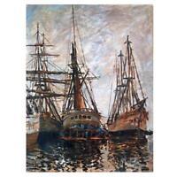 Claude Monet Gemälde Boote auf Reparatur