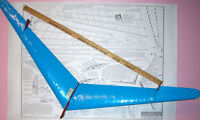 Jasco SAILWING 50 & FLYING WING PLANS + PARTS PATTERNS for TWO TLG Model Planes