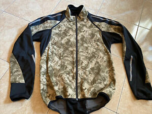 GORE BIKE WEAR Giacca Soft Shell Windstopper Smanicabile Unisex Ciclismo TG.M