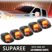 Quality 5pcs Smoked Cab Roof Top LED Marker Running Lights for Truck Pickup SUV