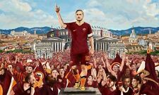 POSTER FRANCESCO TOTTI A.S. AS ROMA 10 ROME SOCCER FOOTBALL CALCIO CAPITANO #40