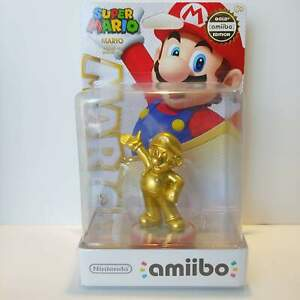 Gold Mario Amiibo - Walmart Exclusive Figure - Nintendo USA Super Party - NEW