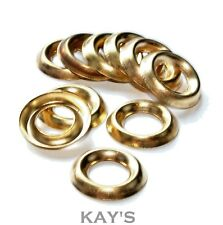 No.4, 6, 8,10,12 SOLID BRASS CUP WASHERS SURFACE FINISHING COUNTERSUNK SCREWS