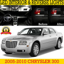 Fits 2005-2010 Chrysler 300 LED Interior & Reverse Replacement Light Kit 14 Bulb