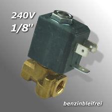 "Magnetventil 1/8"" 1/8 Zoll Elektroventil SAECO AEG Krups Trevi Jura 230V 50Hz"