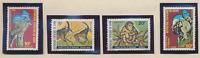 Benin Stamp Scott #439 To 442, Mint Never Hinged, Jungle Animal Set