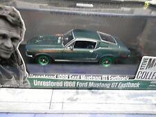 FORD Mustang GT Coupe 1968 McQueen Bullitt UNRESTORED Version wg Greenlight 1:43