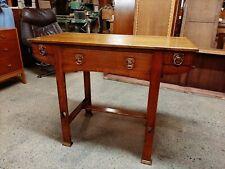 Gorgeous Antique Arts & Crafts Oak Table / Desk Great Condition Rare Piece.