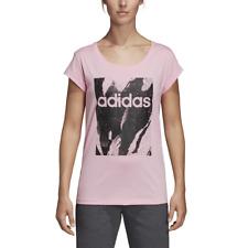 Adidas Mujer Camiseta Lifestyle Esencial Impreso Entrenamiento Gimnasio Fashion