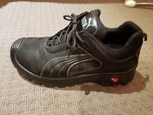 PUMA Safety Toe Cap Work Shoes Boots Size US 10 UK 9 EUR 43