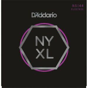 D'Addario NYXL09544 Nickel Wound Electric Guitar Strings 9.5-44 Super Light Plus
