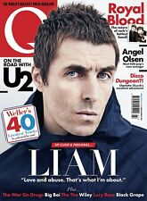 Q magazine Summer 2017 Liam Gallagher U2 Charlotte Church Royal Blood