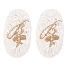 Ted Baker Baby Girl Socks Booties Pram Shoes Pink Knitted Designer 18-24 Months