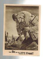1943 Germany Krakow Communism Revolution Illustrated Postcard Cover