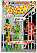 Flash #219 Featuring Green Lantern & Green Arrow Solo Story, Fine Condition