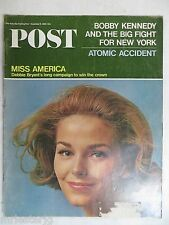 Saturday Evening Post Magazine   November 6 ,1965  Miss America   VINTAGE ADS