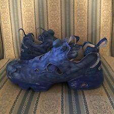 New Vetements x Reebok Instapump Fury Blue Sneakers Limited Edition Sz US 6 37.5