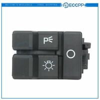 For Chevy GMC Pickup Truck Black Dash Mount Headlight Headlamp Switch Button