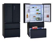 schwarz Kühlschrank Gefrierfach Kombination Kühler freistehend 80L EEK A+