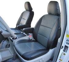 VOLKSWAGEN ROUTAN 2009-2012 IGGEE S.LEATHER CUSTOM FIT SEAT COVER 13 COLORS