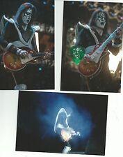 KISS ACE FREHLEY GUITAR PICK CITY MOLINE   5/16/2000  W/UNPUB.PHOTOS