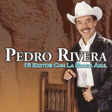 FREE US SHIP. on ANY 2 CDs! USED,MINT CD Pedro Rivera: 15 Exitos Con La Banda Az