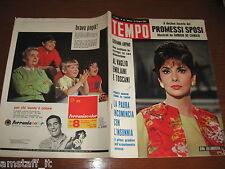 RIVISTA TEMPO 1964/25=GINA LOLLOBRIGIDA=ALBERTO SORDI=MILENA MILANI=