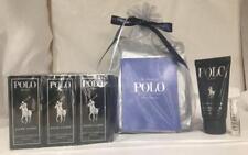 Polo Black By Ralph Lauren Gift Set Hair & Body Wash With 12 Sample Sprays Men
