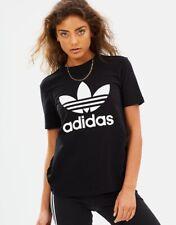 Adidas Logo Size 10 Black T Shirt