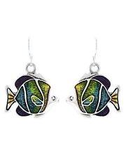 Silver Hook Tropical Fish Sea Life Womens Nautical Beach Earrings 21-3
