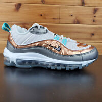 Nike Air Max 98 SE  Women's Shoes Phantom/Metallic Tawny Sneakers BV6536-002