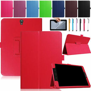 Samsung Galaxy Tab S3 9.7 Inch Leather Case 2017 Version Slim Folding Cover Case