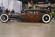 Its already painted Sticker Decal PATINA SHOP TRUCK MODEL A C10 F100 Hot Rod Rat