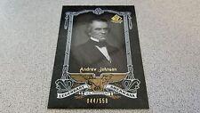 ANDREW JOHNSON 2007 SP LEGENDARY CUTS AMERICANA # 44/550 BASEBALL CARD