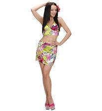Set Hawaiana Top + Gonna PS 07057 Accessori Costume Carnevale -S