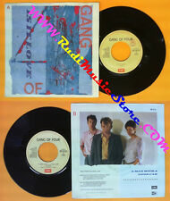 LP 45 7'' GANG OF FOUR Is it love A man with good car 1983 italy no cd mc dvd
