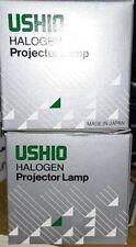 New listing Ushio Eke 21V 150W Halogen Reflector Projector Lamp Lot of 2 Nib