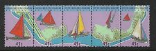 Yachts strip of 5  Complete MUH/MNH as Purchased