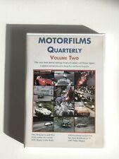 MOTORFILMS QUARTERLY - Volume Two - DVD OOP