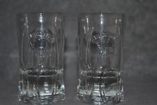 More details for zubrowka bison grass vodka embossed shot glasses collectible set of 6