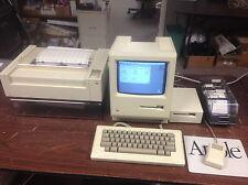 Mac 128k M0001 - Printer - Complete - Original Owner - Macintosh 128k Vintage