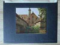 Brandenburg 1918/19 Brandenburg a d Havel Kloster Kirche St Pauli Fachwe 27x36cm