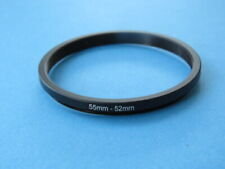 55mm to 52mm Step Down Step-Down Ring Camera Filter Adapter Ring 55mm-52mm